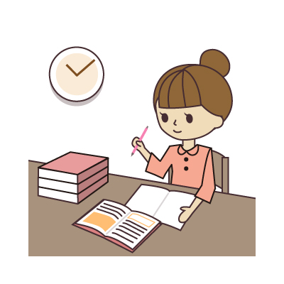 勉強の説明書のレビュー